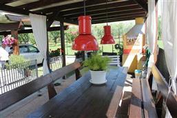 spazio comune con barbecue