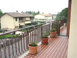 from the balcony
