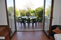 Wohnzimmer mit Terrassenausgang